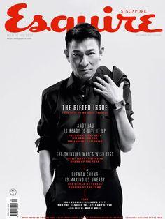 Andy Lau Cover Esquire Singapore December 2013
