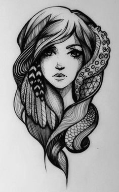 this is just so nice. not as a tattoo for me but it would make a good one!
