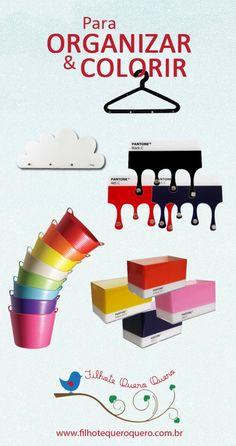 Para Organizar e Colorir!