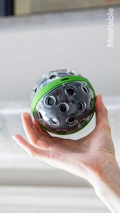 The Panono camera is a ball that captures spherical photos. It also happens to be the highest-resolution consumer camera you can buy