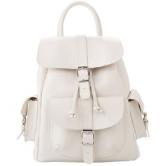 Faux Leather Backpack ($29) ❤ liked on Polyvore featuring bags, backpacks, accessories, bolsas, mochilas, white bags, vegan backpack, strap backpack, mango bags and rucksack bag