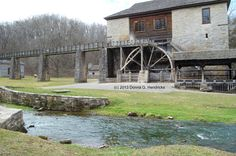 Mill at Springmill State Park in Indiana