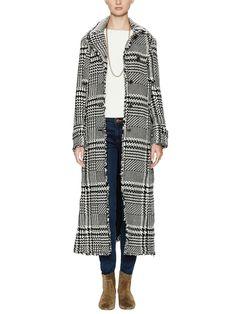 Drapey Yarndye Wool Coat by Free People at Gilt