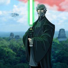 Older Luke Skywalker