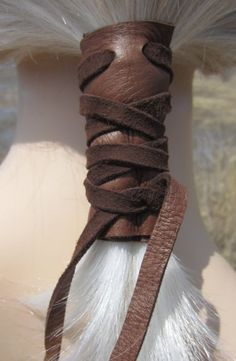 Leather Ponytail Holders- Great Gift Ideas 2
