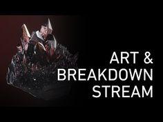 Art Breakdown Stream #01: Rock with Crystals