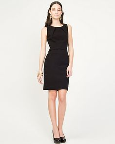 Le Chateau - Bengaline Shift Dress