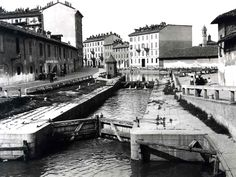 Extract from #HalldisDiscover: In the past #Navigli were important to connect #Milan with Lake Maggiore, Lake Como and also Switzerland.