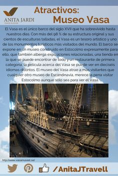 #SalíYViajá Cuando vayás a Suecia no te podés perder la oportunidad de conocer este Barco, o Museo... O los 2 ;-)