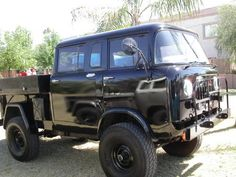 jeep fc170 quad cab ... never seen one like this ... awesome