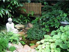 bambus garten im hause wachsen gartenteich deko