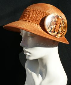 Elegant Straw Hat, Straw Golf Hats, Straw Hats NYC, Strawhats, Sumer Hats, Women's Sun Hats by BythewoodMillinery on Etsy