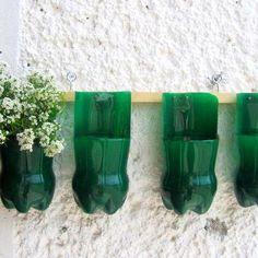Pop Bottle Planters