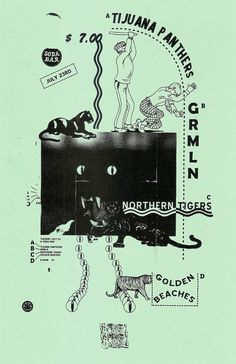Dusty Dirtweed gig poster