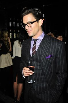 Matt Bomer. Just something about a man in a suit.