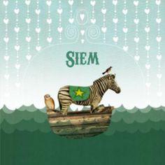 Zebra - Birth announcement card by Pimpelmees (NL)