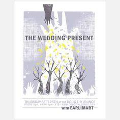 The Wedding Present 14x18  by Sara Turner