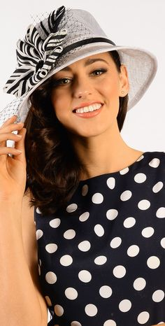 #black and #white @Hat and Fashion.com
