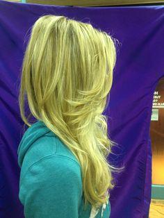 Baliage hair color