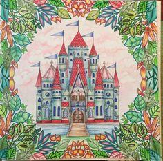 Color Book Enchanted Forest Faber Castell Artist PITT Pens