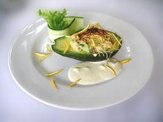 Приготовление авокадо салат