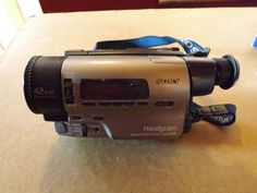 Sony Handycam CCD-TR3300E PAL Hi8 Video Camcorder - Digital Picture - SteadyShot in Cameras & Photography, Camcorders | eBay
