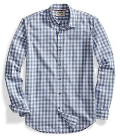 97ebc6c749be Goodthreads Men s Standard-Fit Long-Sleeve Large-Scale Gingham Shirt