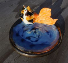Catfish Soap Dish by Dragonware on Etsy
