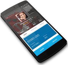 Aplicativo freelancer exibido em um smartphone