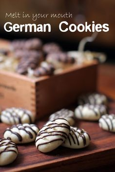 masam manis: MELT-IN-MOUTH GERMAN COOKIES