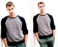 Theo James - Underworld: Awakening. Divergent.
