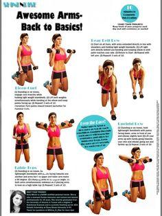 Amazing Arm Workout! www.shineandrise.net