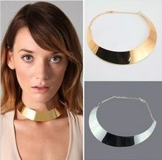 Lemon Value Statement Maxi Choker Vintage Steampunk Collar Colares Gold Color Necklace Women Jewelry Femme Collier Gold Chocker, Silver Choker Necklace, Collar Necklace, Pendant Necklace, Pearl Pendant, Diamond Pendant, Metal Choker, Metal Necklaces, Silver Necklaces