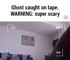 Ghost caught on tape. WARNING: Super scary