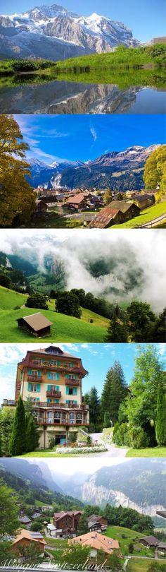 Wengen, Switzerland...pure magic!!!