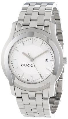 Gucci Men's #YA055212 G-Class Silver Matte Dial Watch