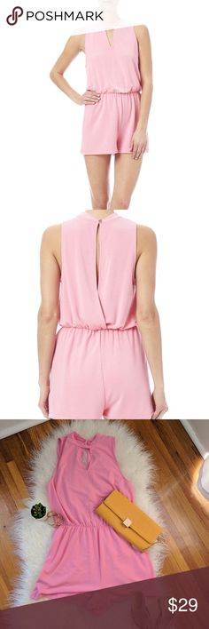 EVERLY | Romper, open back, NWOT Perfect for summer, brunch or festivals. Never worn.   Measurements:  Shoulder to shoulder 12 inches Shoulder to waist 18 inches Waist to hem 14 inches Flat across waist 14 inches Armpit to armpit 21 inches Everly Other