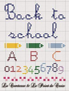 Lacomtesse&lepointdecroix: Ritorno a scuola...