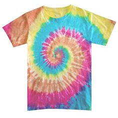 HiHippy Tie Dye T-Shirt Orange Yellow Blue Hippie Men Women Short Sleeve Multicolor Hippie Men, Hippie Pants, Boho Pants, Hippie Boho, Beach Pants, Flowy Pants, Comfy Pants, Harem Pants, Elephant Pants