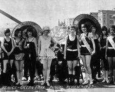 Venice Beach Beauty Review c.1923
