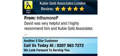 David was very helpful and I highly recommend him and Kubie Gold Associates.