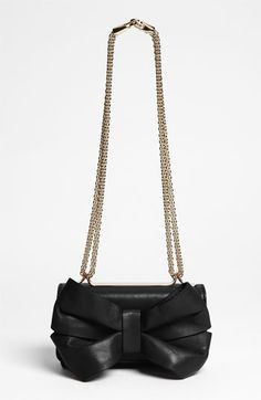 Valentino 'Bow Mini' Leather Shoulder Bag | Nordstrom--  This needs to go on sale for 97% off.