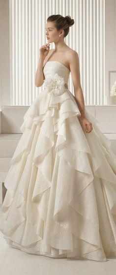Wedding Dresses Paradise - Rosa Clara 2015 Bridal Collection - Belle The...