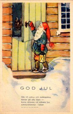 MARIANNE TELEGIN (TRYGG) - 106951943635258866150 - Picasa-verkkoalbumit Gnomes, Album, Christmas, Painting, Art, Picasa, Yule, Art Background, Navidad