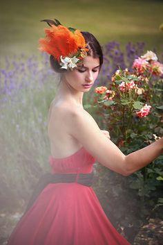 Sohemi_art / Fascin�tor Girls Dresses, Flower Girl Dresses, Flower Headbands, Fascinator, Tulle, Wedding Dresses, Skirts, Flowers, Art