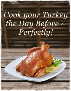 How to make the perfect Christmas or Thanksgiving Dinner - easily! Read more here.