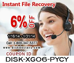 Save up to 6% on #DiskDoctors Instant FIle Recovery #software through coupon code given.