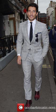 David Gandy, London Fashion Week, Cafe De Paris