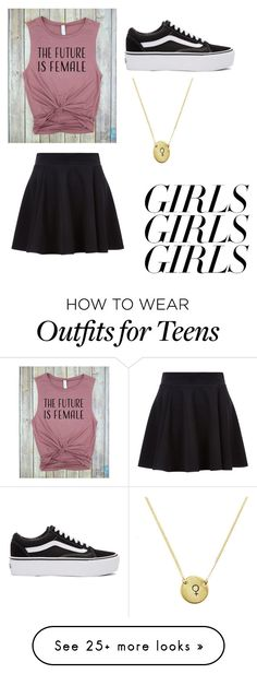 """Untitled #6"" by aquascribbles on Polyvore featuring Vans, womensHistoryMonth, pressforprogress and GirlPride"