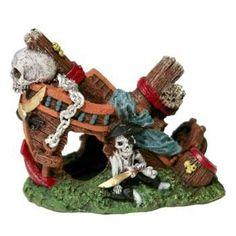 """Resin Ornament - Shipwreck Small 4"""""""